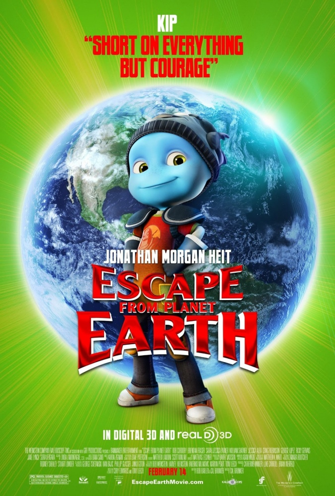 Amazoncom Escape From Planet Earth Bluray  DVD