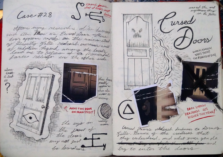 дневник гравити фолз 3 картинки