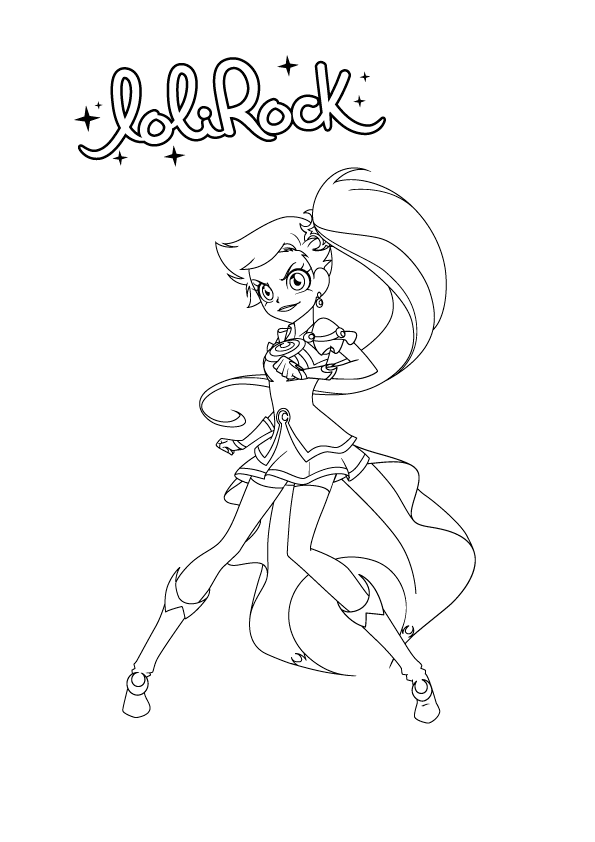 Lolirock Talia Coloring Pages Coloring Pages